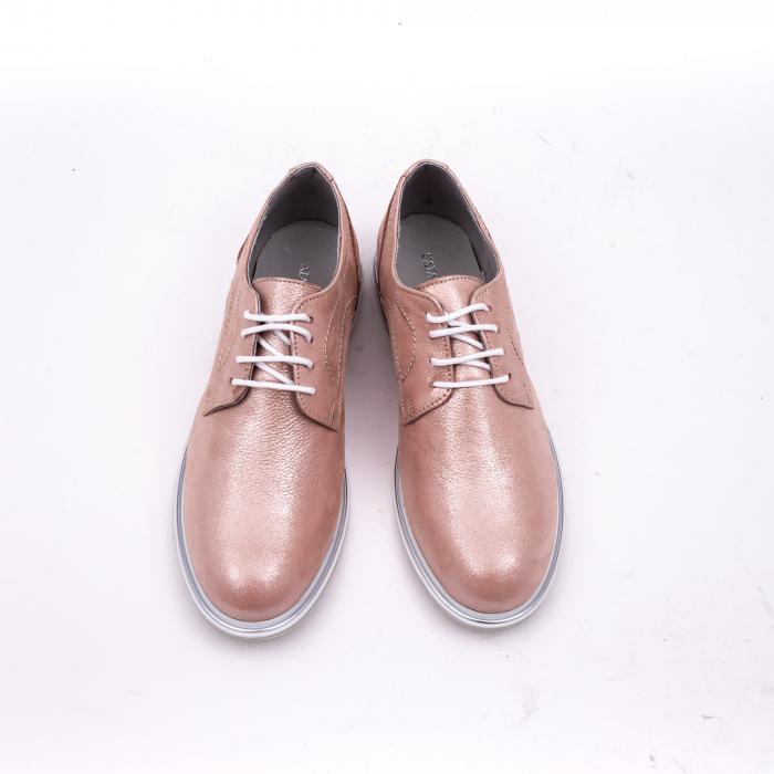 PantofI dama casual piele naturala, Catali-Shoes 191646, pudra 5