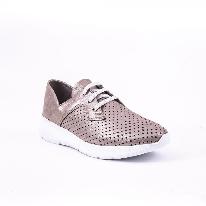 Pantof casual 191647 vizon 0