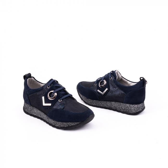 Pantof casual 191651 bleumarin