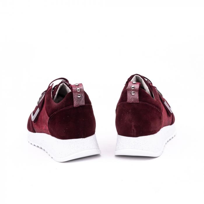 Pantof casual 191651 bordo 5