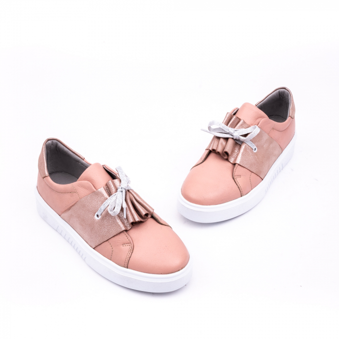 Pantof casual Catali 191654 pudra 1