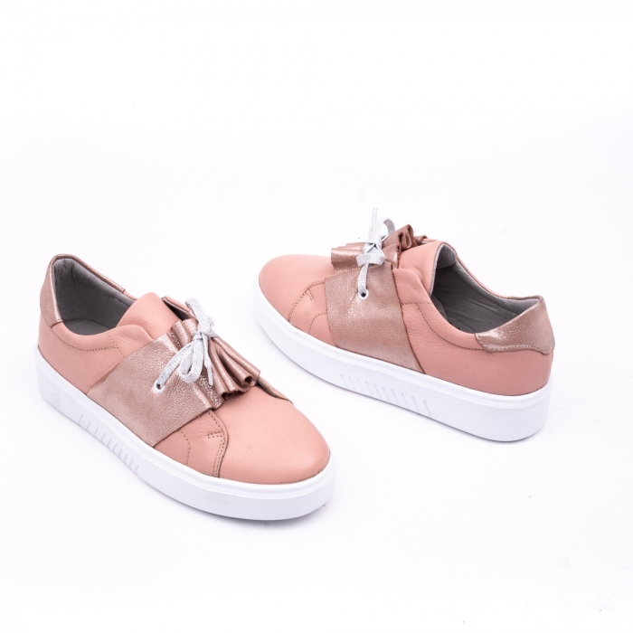 Pantof casual Catali 191654 pudra 3