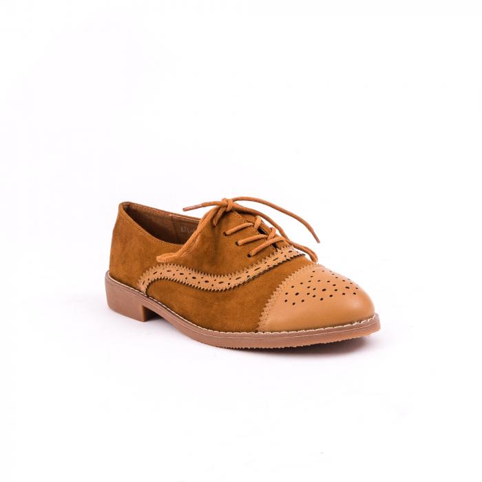 Pantof casual 688 camel