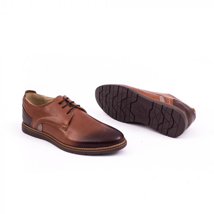 Pantof casual barbat 191523 coniac 2