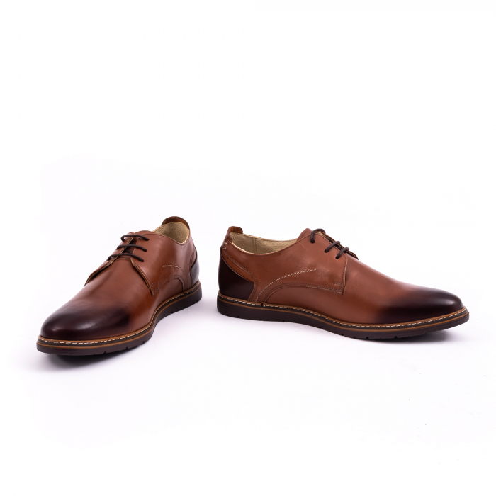 Pantof casual barbat 191523 coniac 4