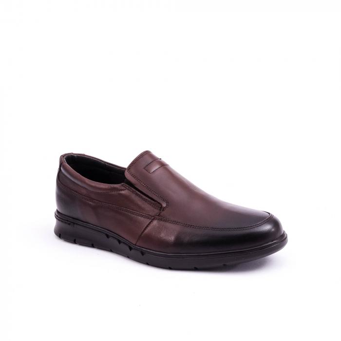 Pantof casual barbat 191525CR maro 0