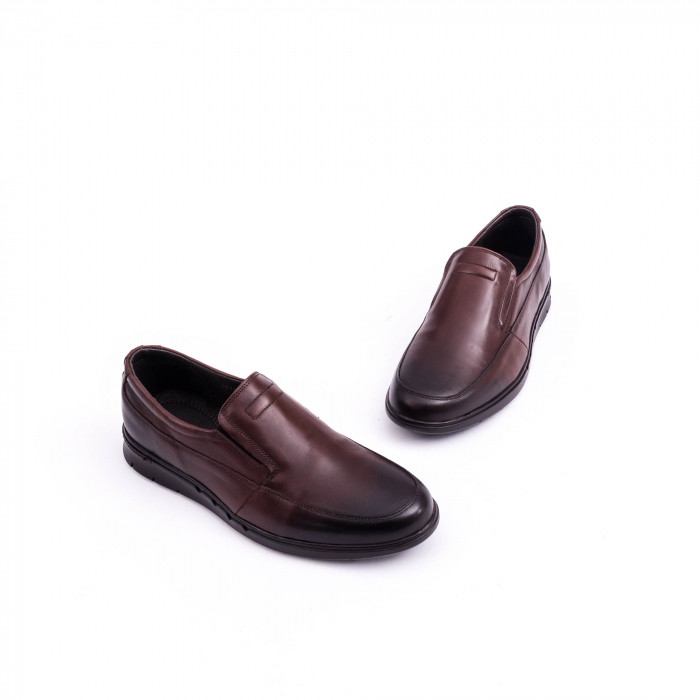 Pantof casual barbat 191525CR maro 3