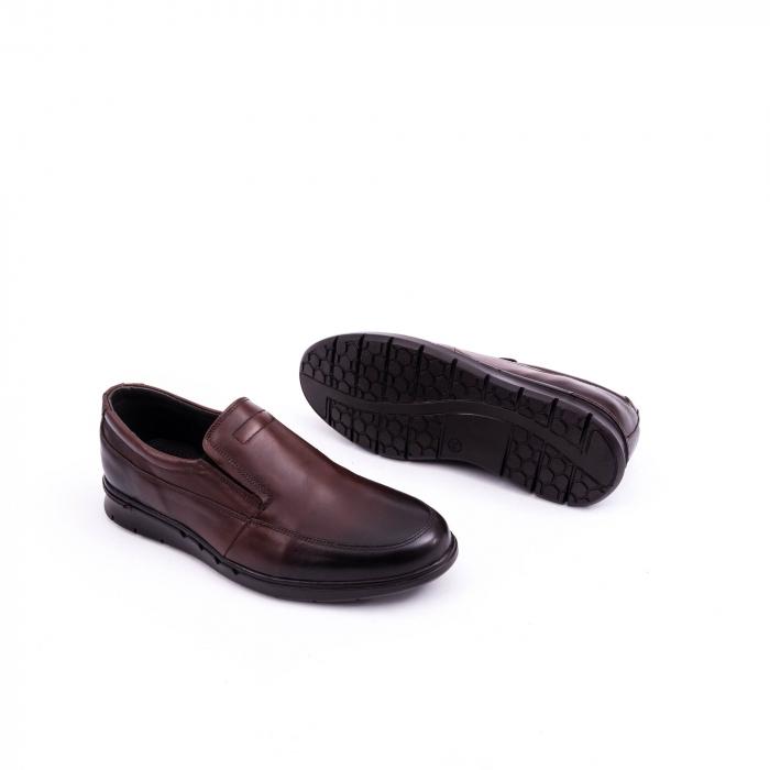 Pantof casual barbat 191525CR maro 2