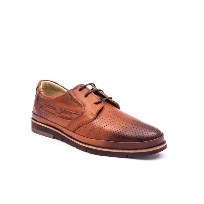 Pantof casual barbat 191536 coniac