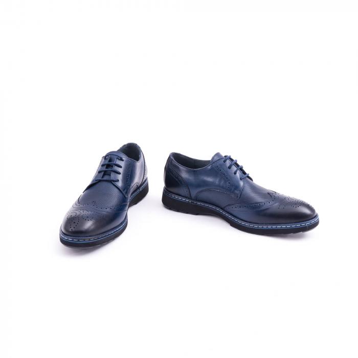 pantof casual barbat model Oxford 4