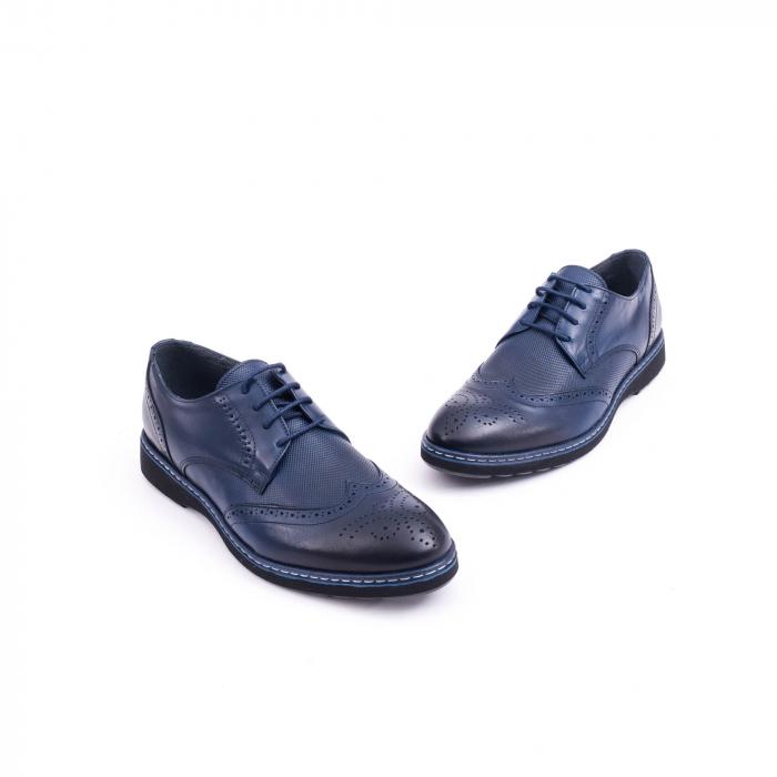 pantof casual barbat model Oxford 2