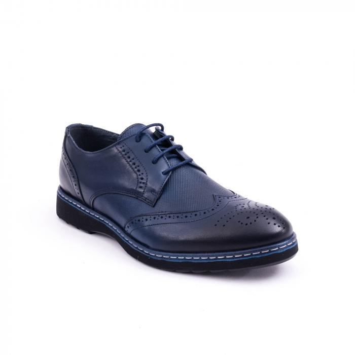 pantof casual barbat model Oxford 0