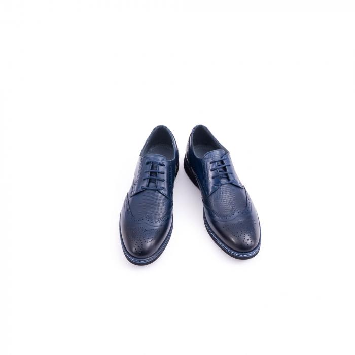 pantof casual barbat model Oxford