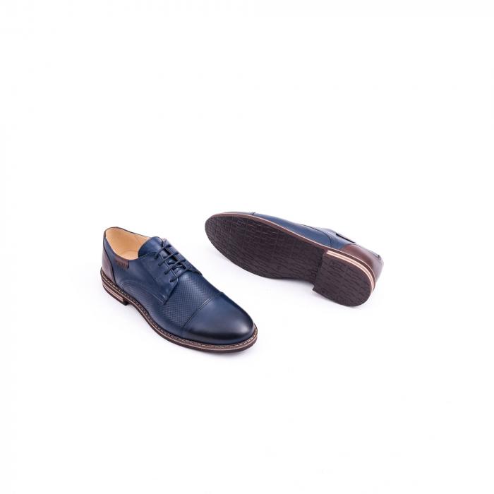 Pantof casual barbat CataliShoes 181594CR bleumarin 2