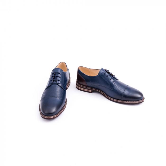Pantof casual barbat CataliShoes 181594CR bleumarin 4