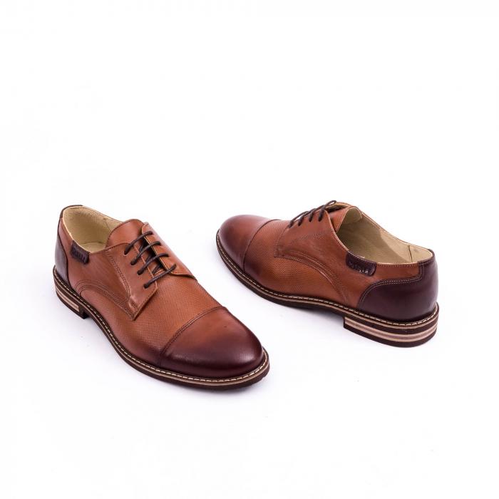 Pantof casual barbat CataliShoes 181594CR maro