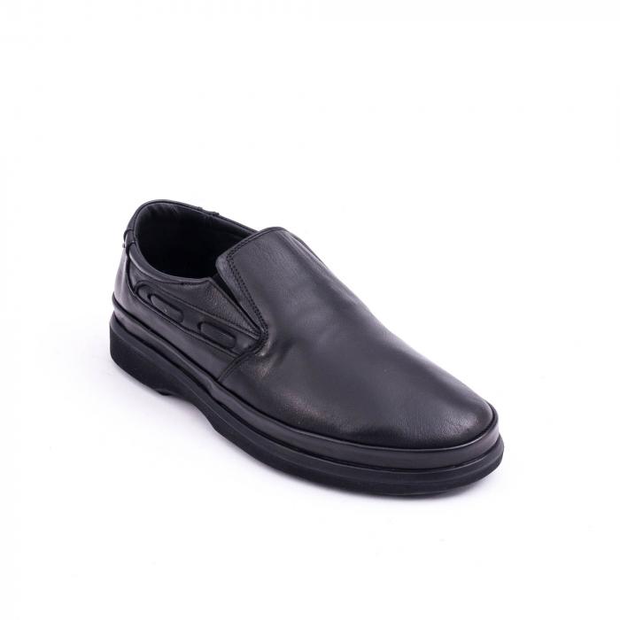 Pantof casual barbat CataliShoes 182507STAR negru