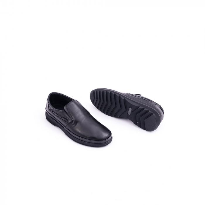 Pantof casual barbat CataliShoes 182507STAR negru 2