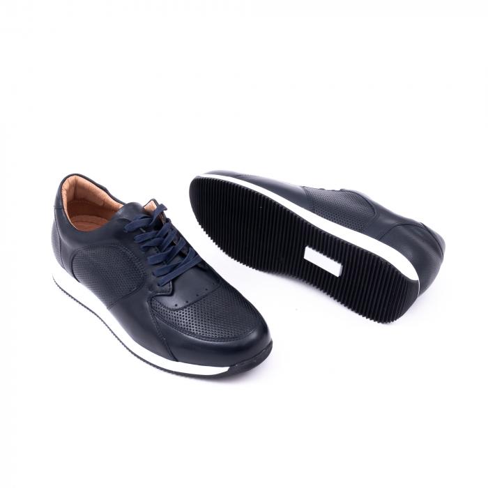 Pantof casual barbat LFX 519 bleumarin 3