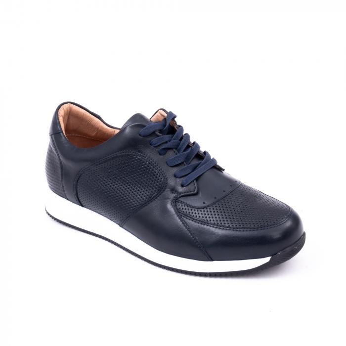 Pantof casual barbat LFX 519 bleumarin 0