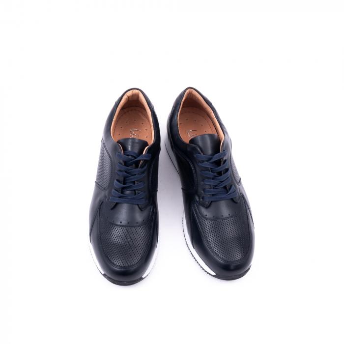 Pantof casual barbat LFX 519 bleumarin 5