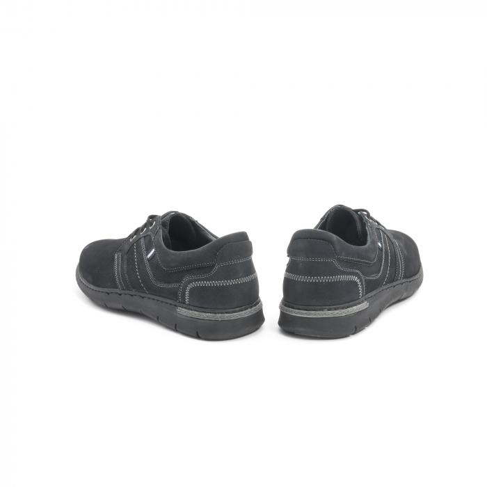 Pantof casual barbat LFX 521 negru
