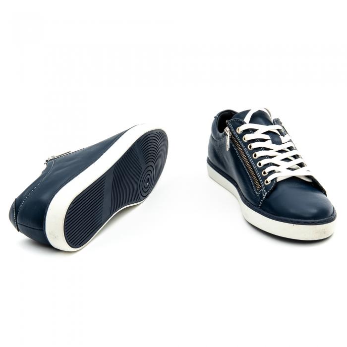 Pantof casual barbat LFX 801 bleumarin 4