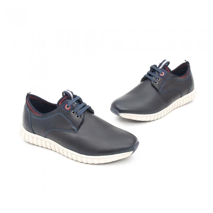 Pantof casual barbat LFX 942 bleumarin 1