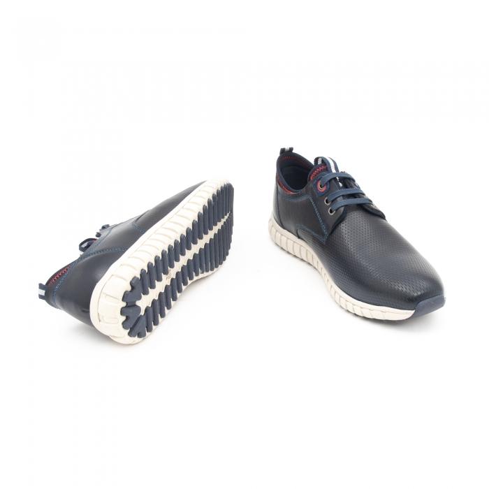 Pantof casual barbat LFX 942 bleumarin 3