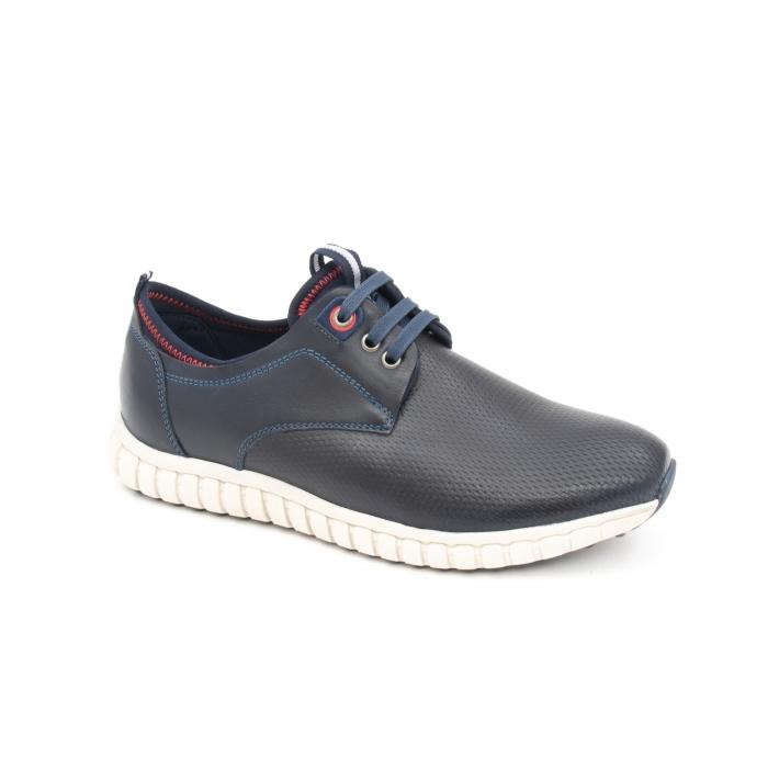 Pantof casual barbat LFX 942 bleumarin 0