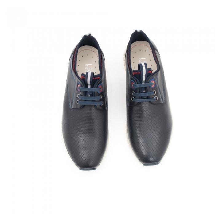 Pantof casual barbat LFX 942 bleumarin 4