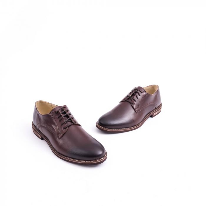 Pantof casual barbat marca CataliShoes 171534CR maro