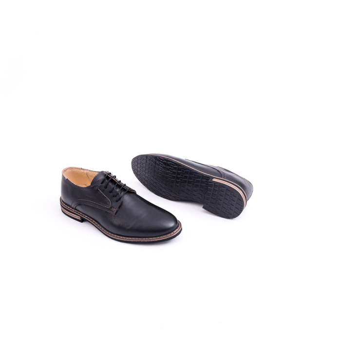 Pantof casual barbat marca CataliShoes 171534CR negru