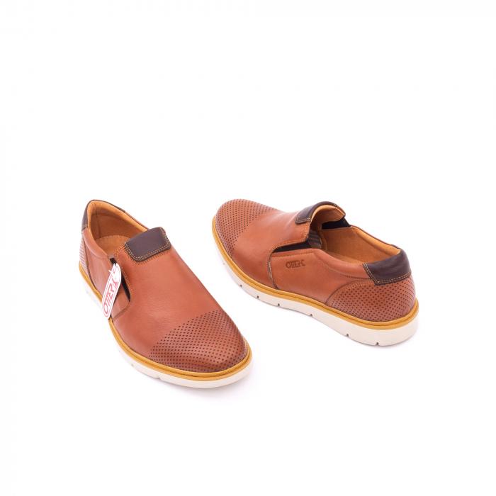 Pantof casual barbat OT 5916 coniac 3