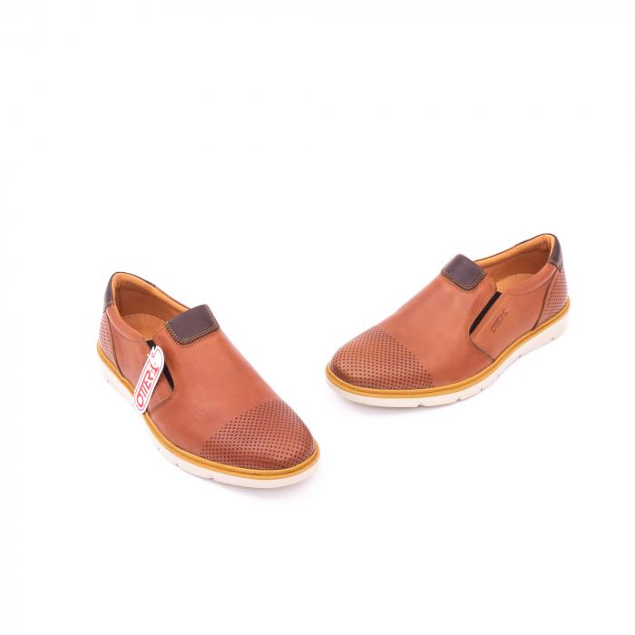 Pantof casual barbat OT 5916 coniac 1