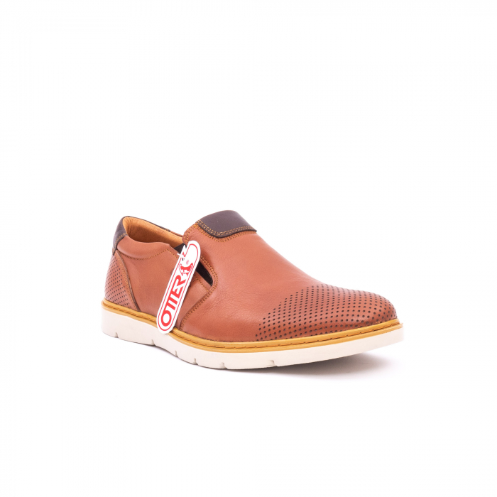 Pantof casual barbat OT 5916 coniac 0
