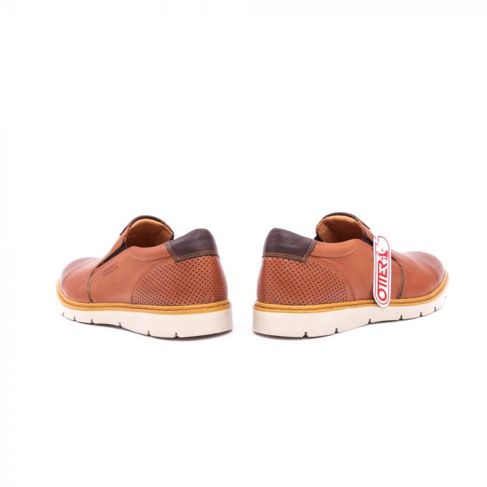 Pantof casual barbat OT 5916 coniac 6