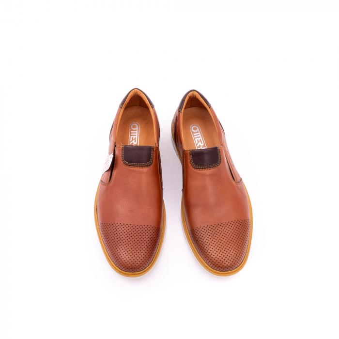 Pantof casual barbat OT 5916 coniac 5