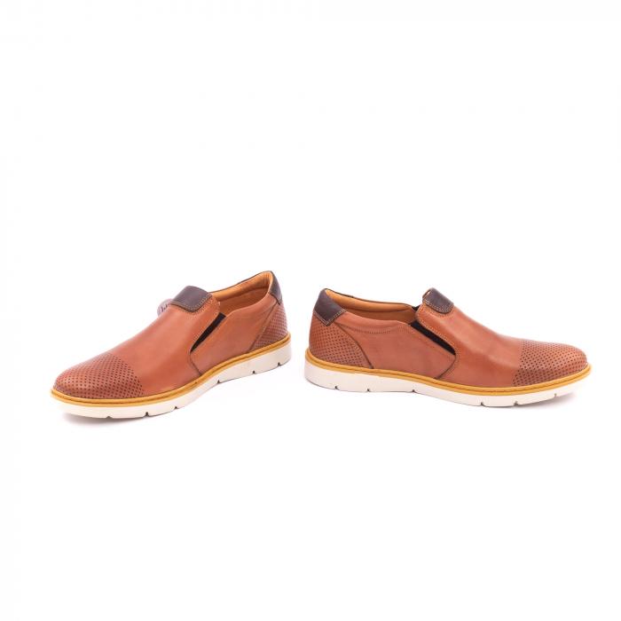 Pantof casual barbat OT 5916 coniac 4