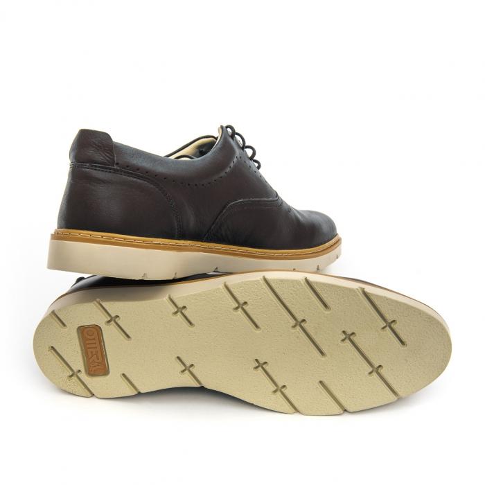Pantof casual barbat OT 5915 black lotus