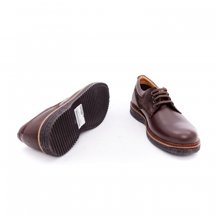 Pantofi barbati casual piele naturala Otter 020 C4 maro 3