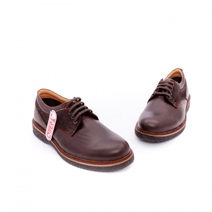 Pantofi barbati casual piele naturala Otter 020 C4 maro 1