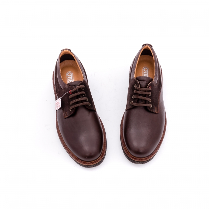 Pantofi barbati casual piele naturala Otter 020 C4 maro 4