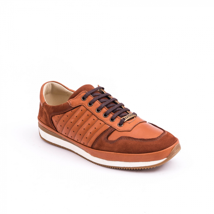 Pantof casual CataliShoes 191534 STAR maro 0