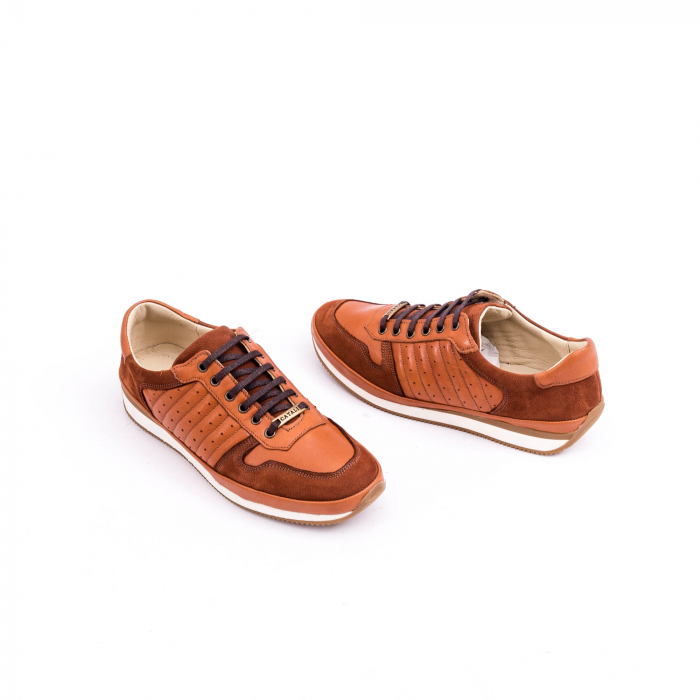 Pantof casual CataliShoes 191534 STAR maro 2