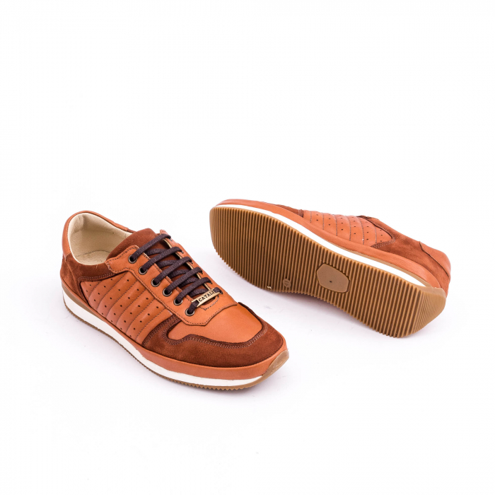 Pantof casual CataliShoes 191534 STAR maro 3