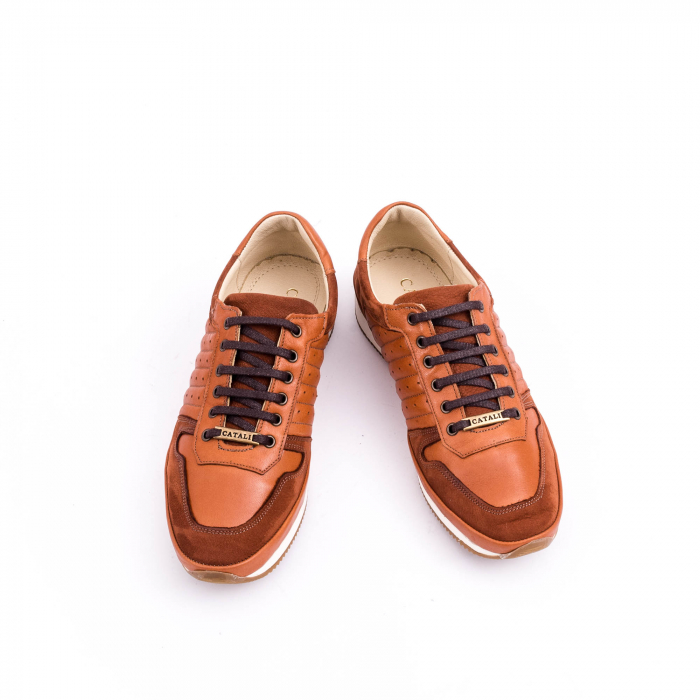 Pantof casual CataliShoes 191534 STAR maro 5