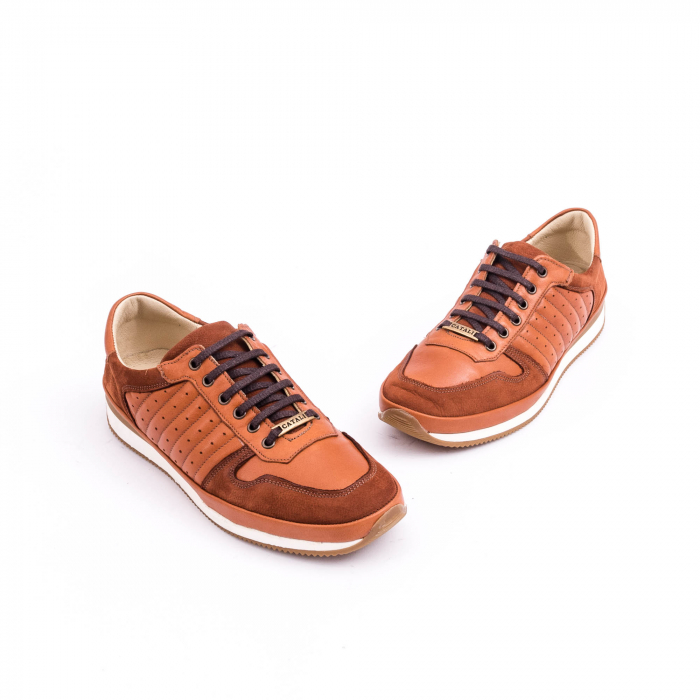 Pantof casual CataliShoes 191534 STAR maro 1