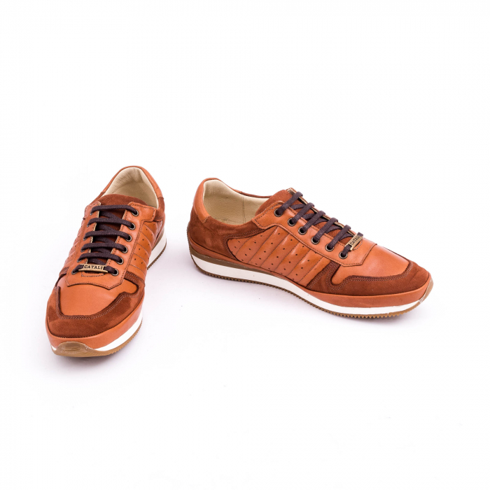Pantof casual CataliShoes 191534 STAR maro 4