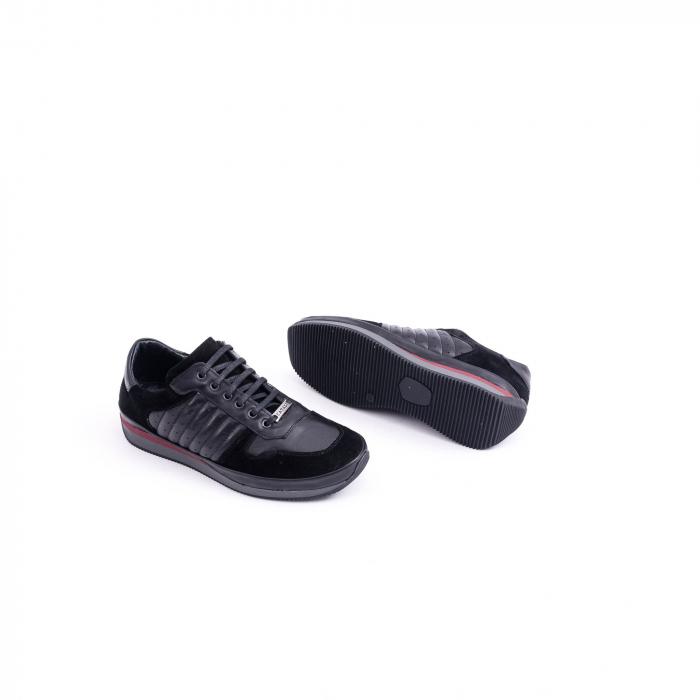 Pantof casual CataliShoes 191534 STAR negru 3